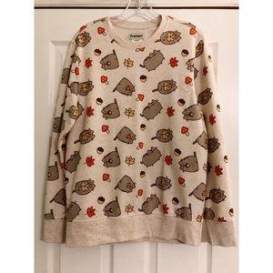 Pusheen Fall Acorn Sweater Sweatshirt Top